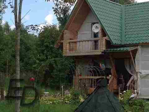 Двухэтажный зимний дом 140км от МКАД по Минскому шоссе