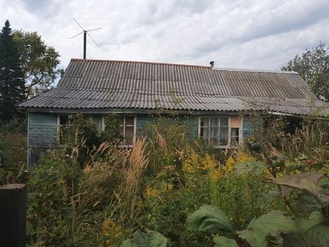 17 соток с домом под снос в деревне Болтино. пм