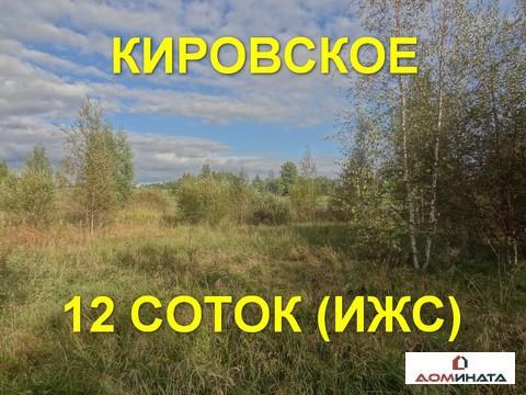 Участок 12 соток в д. Кировское