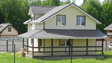 Загородный дом ДПК Верховье 7 соток Киевское Калужское шоссе