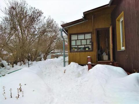 Дом из бревна в 10 км от Москвы 68.0 кв.м, участок 13.0 сот, Минское .