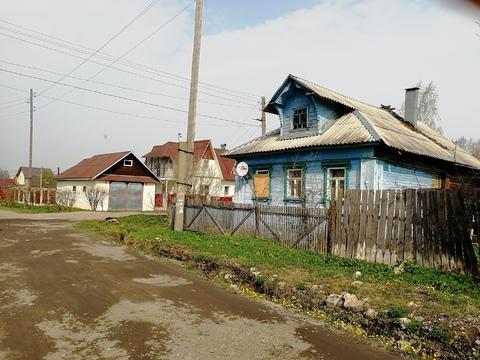Продам дом из бревна с газом в городе Кимры. ул. 40 лет Октября