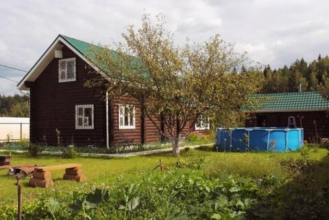 Новый дом из бревна для круглогодичного проживания