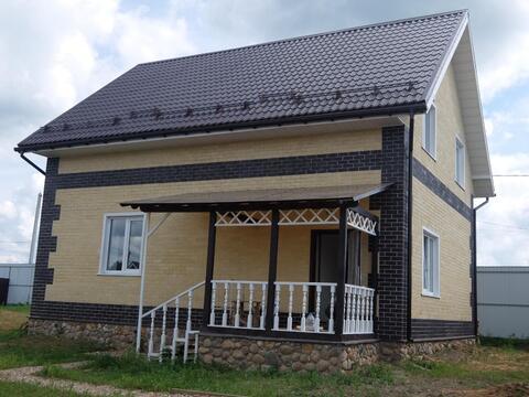 Дом под ключ с магистральным газом, 145 кв.м. на участке 10 сот. , .