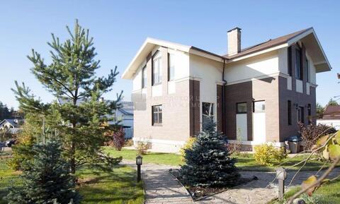 Дом 220 м2, участок 18 сот, Новорижское ш, 38 км от МКАД, Буньково. .