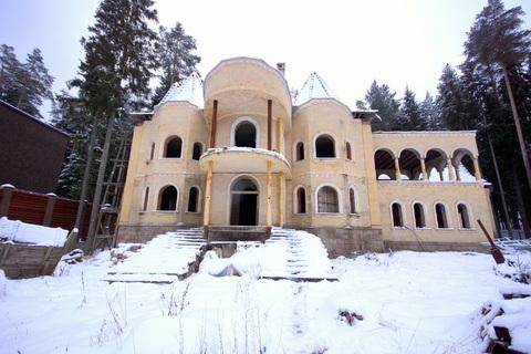 Дом резиденция на Николиной Горе для большой семьи