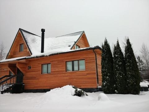 Дом 210 кв.м, Участок 14 сот. , Пятницкое ш, 35 км. от МКАД.