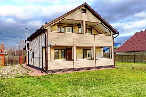 На огороженной территории кп продается жилой дом с мебелью. Ярославка.