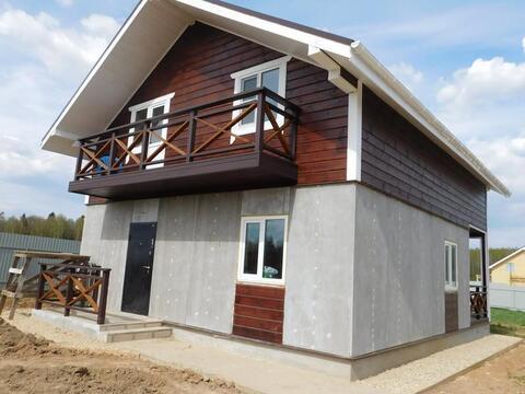 Дом в боровском районе калужской области с газом Боровики 12 сот. река