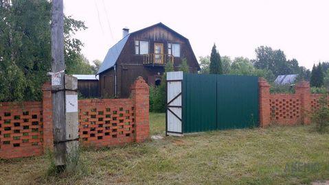 Двухэтажный деревянный дом общей площадью 114 кв.м на участке 13 .