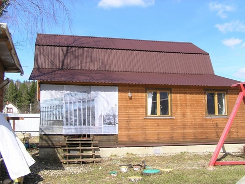 Дом 130 кв.м, Участок 6 сот. , Минское ш, 75 км. от МКАД.