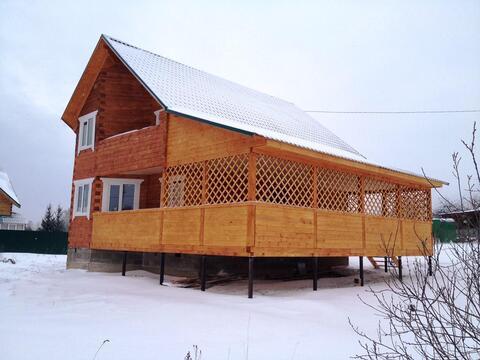 Новый дом 170 кв.м с отделкой и всеми коммуникациями в жилой деревне