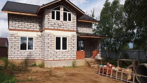 Дом 160 кв.м под отделку д.Овсянниково 25 км от МКАД
