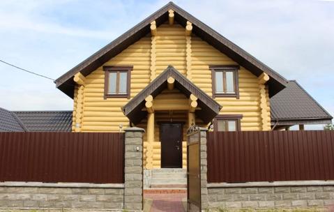 Бревенчатый дом город Чехов
