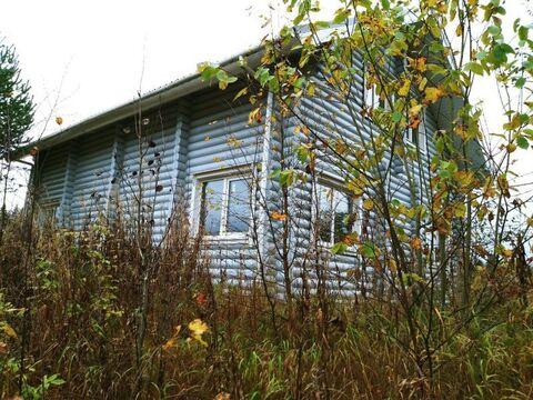 Новый зимний дом 167 кв.м из бревна на участке 20 соток