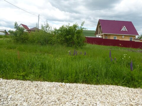 Участок 6 сот в СНТ около д. Тишково, Ступинского района