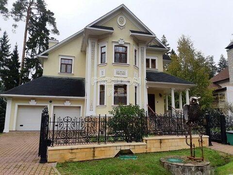 Дом под ключ в элитном поселке на Рублево-Успенском шоссе.