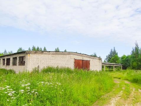 Продам земельный участок и зерносклад в д.Каюрово Кимрского района