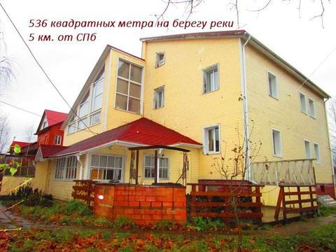 Дом ИЖС 400 кв.м. Энколово у реки.
