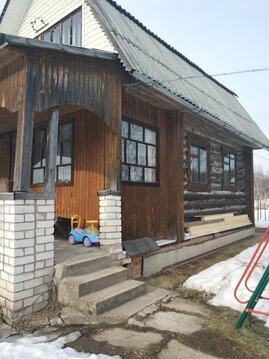 Продаётся бревенч.дача 70 кв.м. на 6 сот в СНТ Истра-1, 45 км от мка