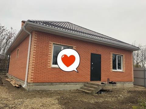 Кирпичный новый дом 120 м2, земля 4 сот !