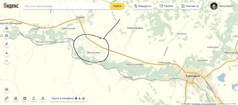 Большой участок 30 сот (ИЖС), в селе Васильевка Кувандыкский р-н