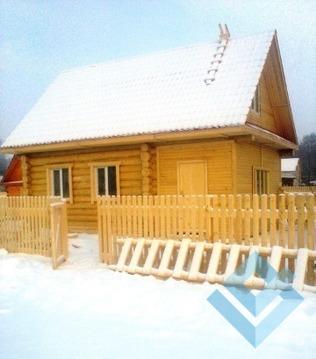 Новый деревянный дом в Мысах Краснокамского района