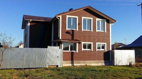 Новый дом-коттедж с г/о в пос. Лежнево Ивановской области