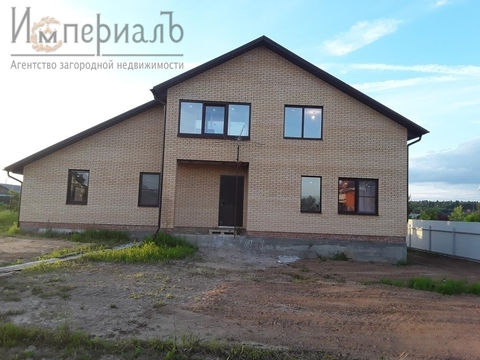 Продается 2х этажный кирпичный дом 216 кв.м. + 50кв.м веранда в Папино