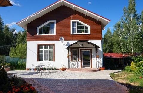 Дом 200 м2 + баня + 25 соток в д.Ярцево, 40 км от МКАД. Лесной участок