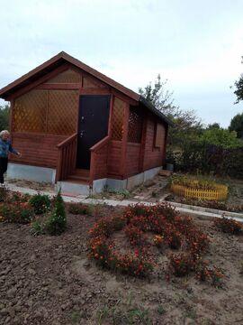 Дачный домик 23 кв.м. с земельным уч-ком 6 соток в ст .