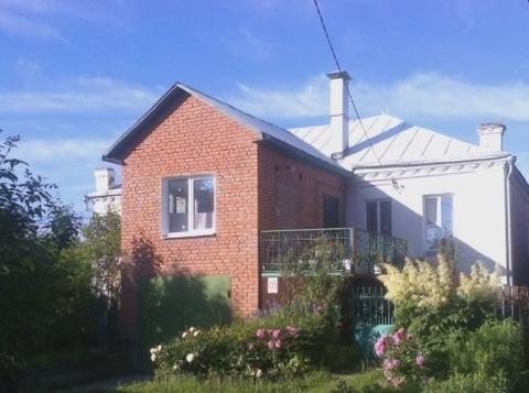 Продается половина дома с отдельным входом площадью 105 кв.м. на участ