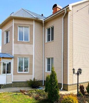 Продаю современный дом с баней и участком в Серпуховском районе МО.
