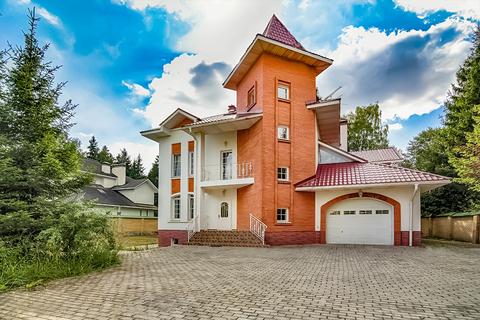 3-х этажный (4-х уровневый) дом 409 м2 на 15 сотках ИЖС в д. Селятино