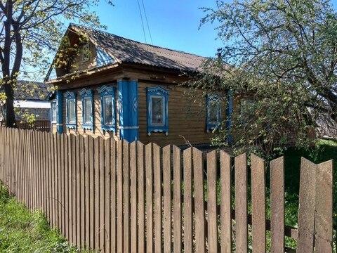 Дом 50 кв.м. на земельном участке 32 сотки в д. Клюшниково