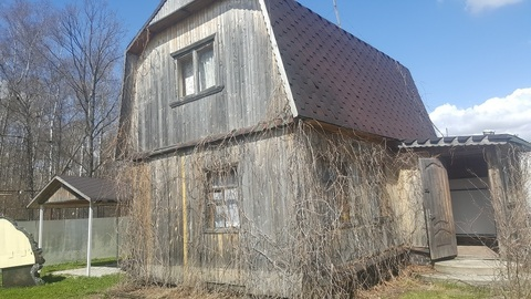 Дом с пропиской в Подольске, СНТ Березка-1