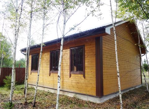 Новый дом около Боровска.