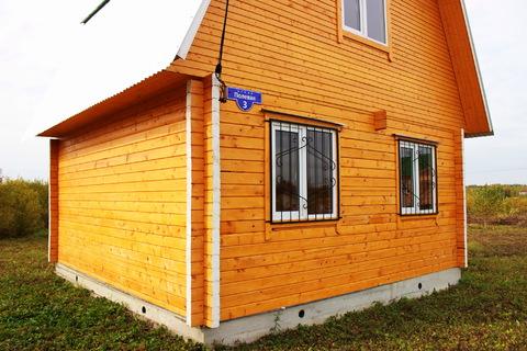 Добротный деревянный домик в деревне Вороново, недалеко от ж/д станции