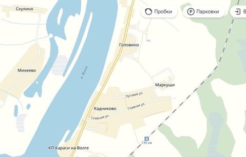 Продам земельный участок 12 сот. под ИЖС в д.Маркуши в Кимрском районе