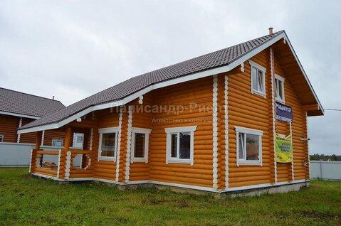 Дом из бревна с магистральным газом. Киевское шоссе. Калужское шосс.