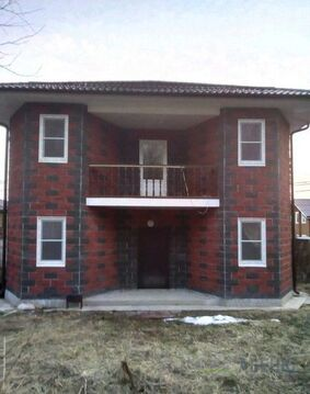 Жилой зимний дом 180 кв.м. 8 соток, прописка! ИЖС. Автобусная .