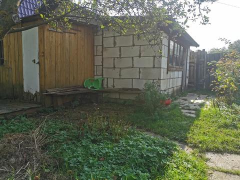 Продается земельный участок с блочным домиком, 80 км.от МКАД, в СНТ