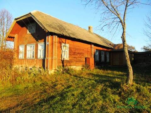 Добротный рубленный дом в д.Савельево - 90 км Щёлковское шоссе