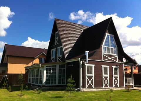 Дом из бруса 200 кв.м рядом с Обнинском