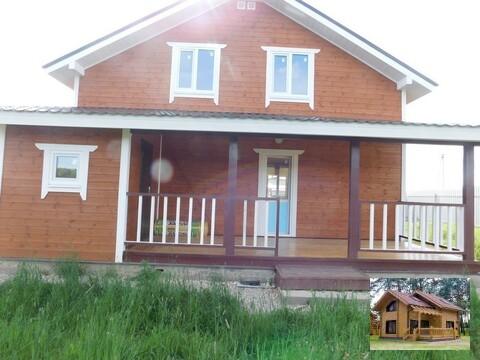 Дом с участком по Киевскому шоссе 65 км от МКАД Шапкино