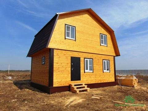 Новый тёплый зимний дом в дер.Аленино - 65 км Щёлковское шоссе