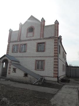 Дом загородный дер+кирпич