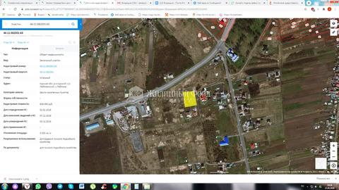 Продажа участка, Лебяжье, Курский район
