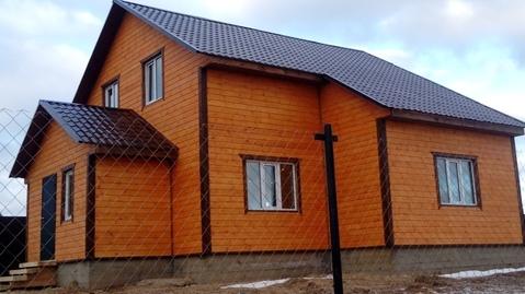 Удобный и надежный теплый дом на окраине деревни Алопово.