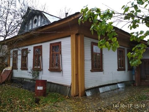 Продам дом из бревна, 15 минут ходьбы до реки Волга. Деревня Башарино